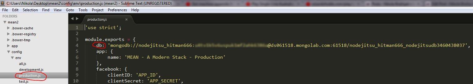 Deploying Mean Io To Nodejitsu From Windows Machine Nikola Breznjak Blog